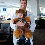 chewbacca baby costume cute