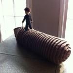 dune sandworm muad dib crochet art