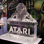 ghostbusters ice sculpture slimer atari