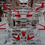 gundam ice sculpture for geeks