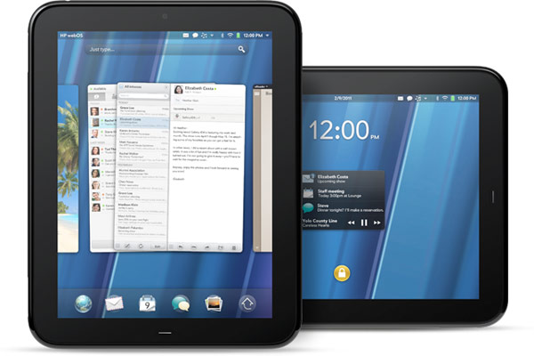 HP Palm TouchPad Tablet