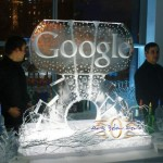 ice sculptures google geeks 2