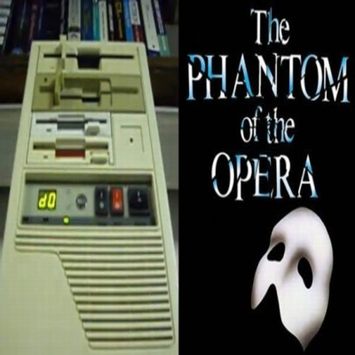 phantom of the opera theme floppy disks