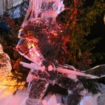 predator ice sculptures geeks