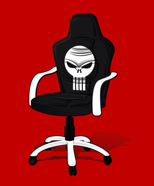 punisher chair punichair