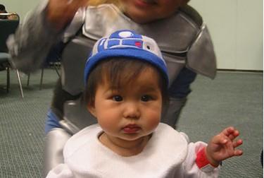 r2d2 baby costume cute