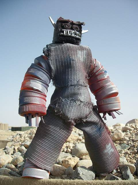 recycled action figures afghanistan 1
