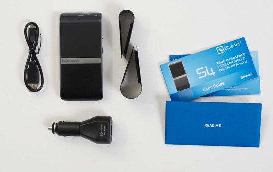 s4 bluetooth speakerphone blueant contents