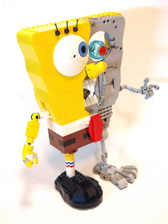 spongebob terminator lego