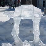 star wars ice sculptures at at