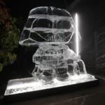 star wars ice sculptures darth vader stewie griffin