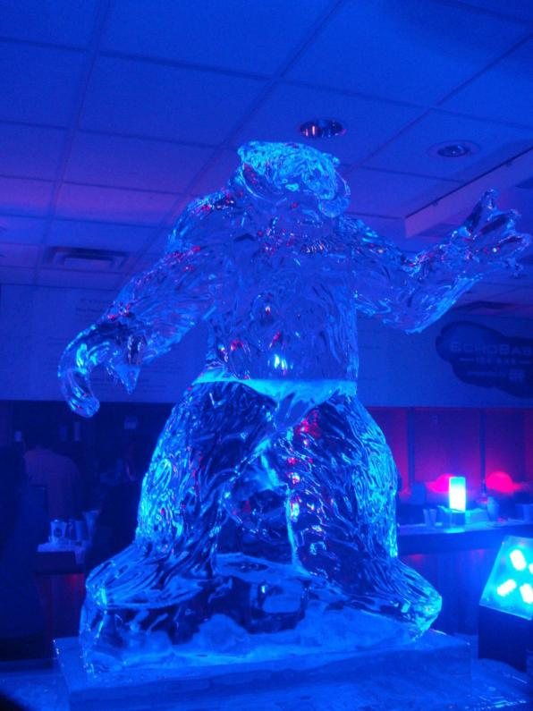 star wars ice sculptures wampa