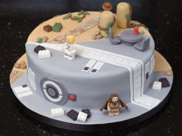 star wars indiana jones cake design