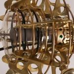 steampunk microphone close up
