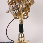 steampunk microphone side