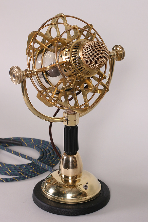 steampunk microphone side 2