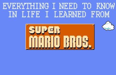 super mario bros life lessons