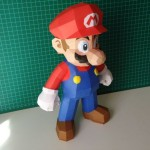 super mario bros papercraft model design 4