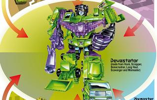 decepticons logo vehicles infographics