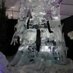 transformers ice sculpture optimus prime