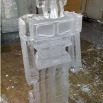 transformers ice sculpture optimus prime 2