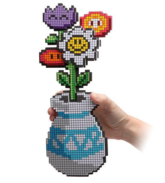 valentine's day gift ideas 8bit flower bouquet