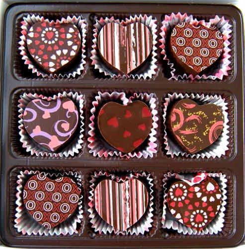 valentine's day gift ideas choclate hearts