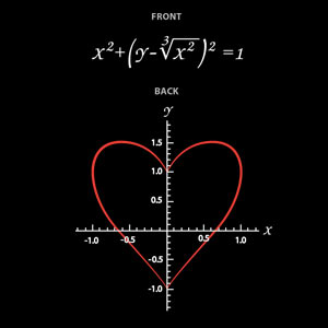 valentine's day gift ideas geek shirt plotting of heart