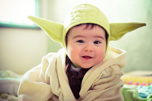 yoda baby star wars costume