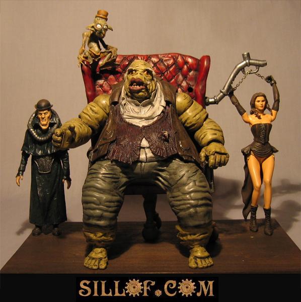Jabba's court Steampunk