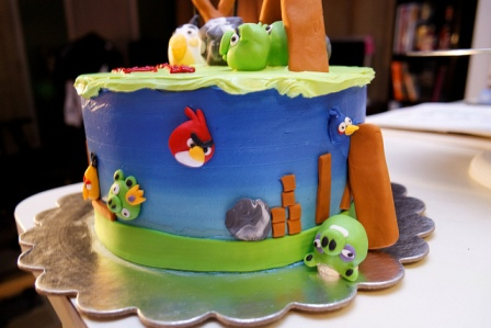 Angry Birds Cake 2