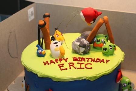 Angry Birds Cake 3