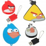 Angry birds keychain flash drive 1