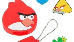 Angry birds keychain flash drive 3