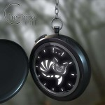 Cheshire Cat Pocketwatch Time