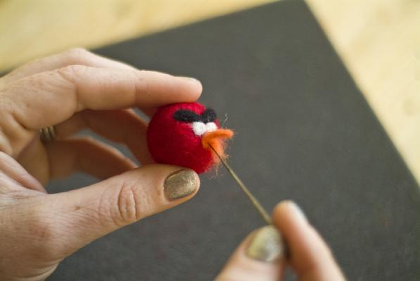 Felted Angry Birds 4