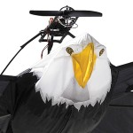 Flying RC Bald Eagle