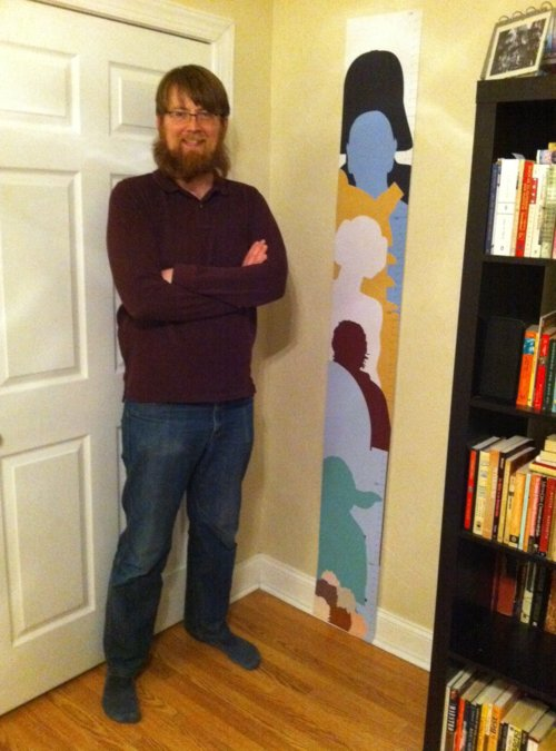 Geeky Growth Chart Real Life View