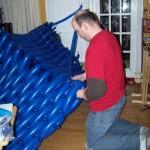 Giant Balloon Tardis 2