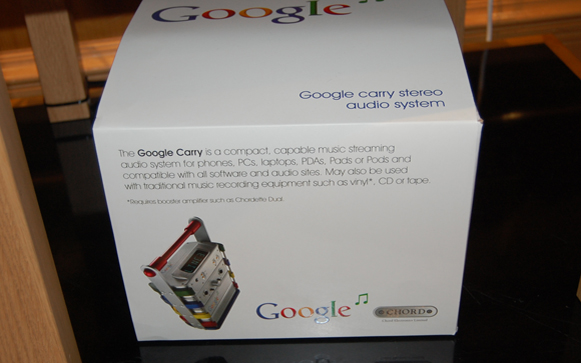 Google Carry Description