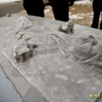 Han Solo Carbonite Ice Sculpture 1