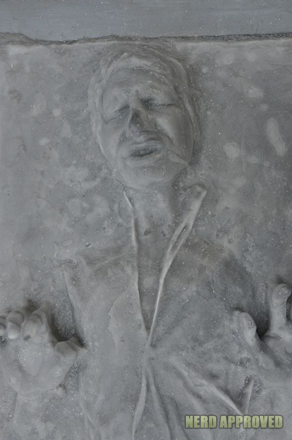 Han Solo Carbonite Ice Sculpture 2