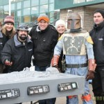 Han Solo Carbonite Ice Sculpture 3