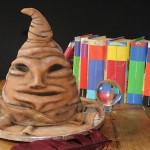 Harry Potter Sorting Hat Cake 1