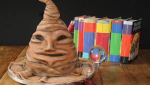 Harry Potter Sorting Hat Cake 1