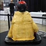 Hellboy Cake Back