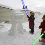 Imperial AT-AT Snow Sculpture 3