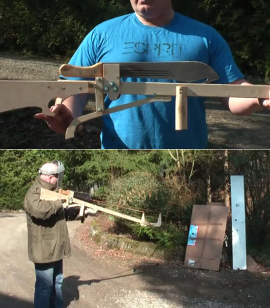 Machete Slingshot Crossbow
