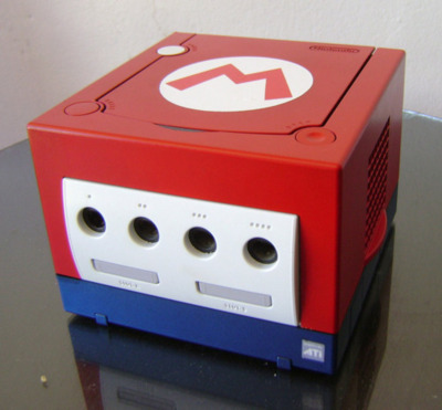 Mario Gamecube closeup