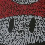 Mario Super Mushroom Typography Art